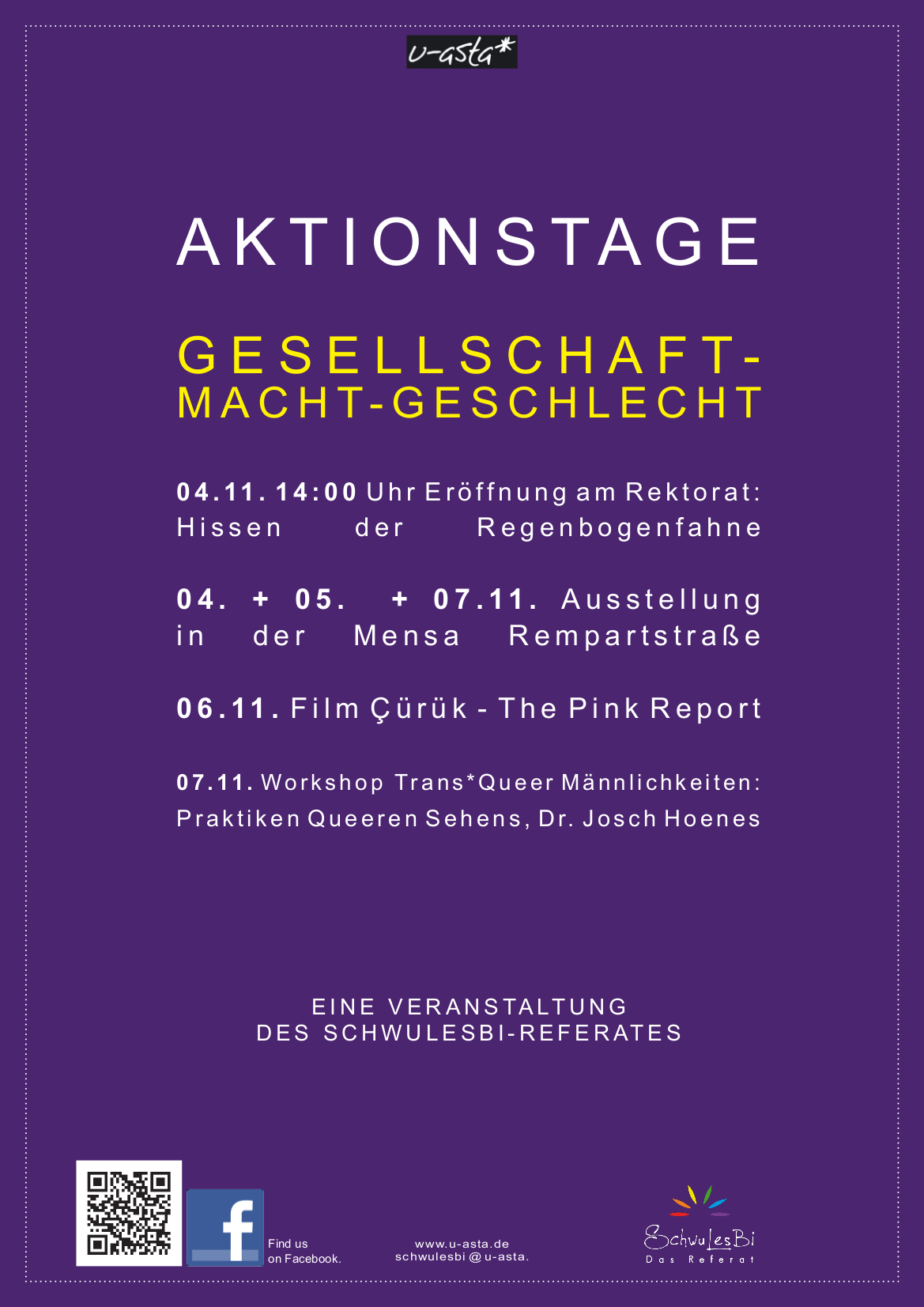 plakate der aktionstage im november 2013