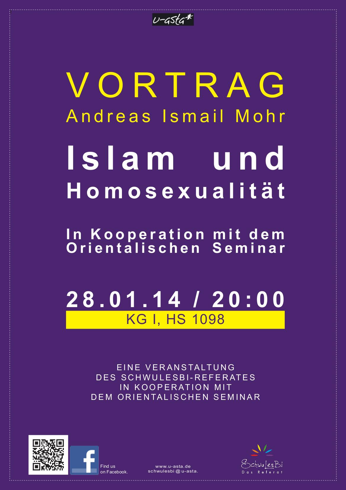 plakat islam und homosexualität
